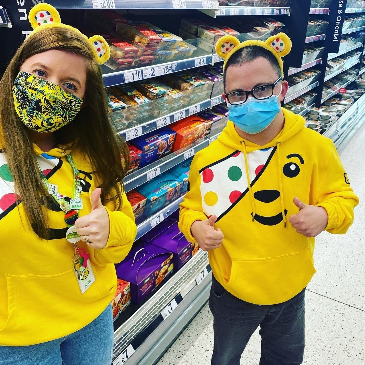 Children in Need 2020 | Asda Rugby