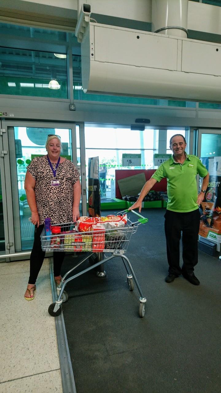 Donation for local care company | Asda Filton