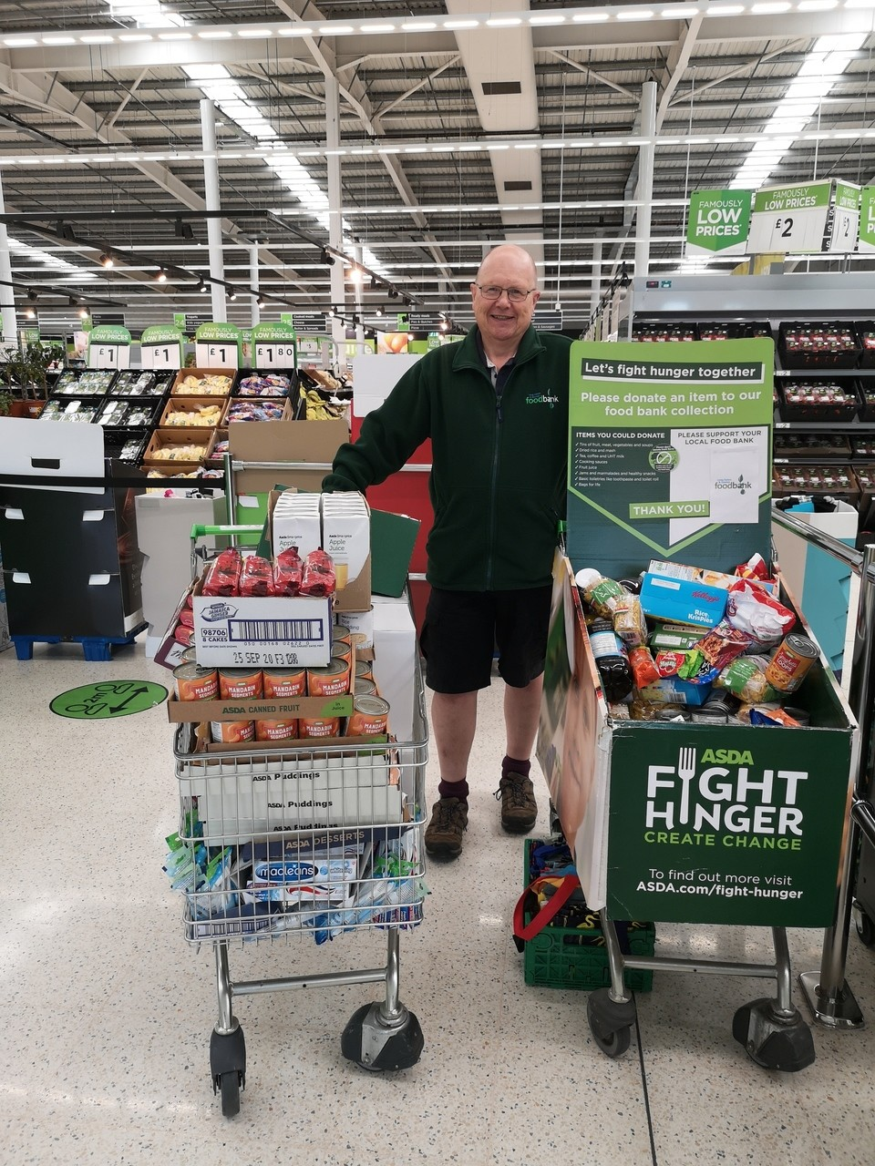 Food bank support | Asda Long Eaton