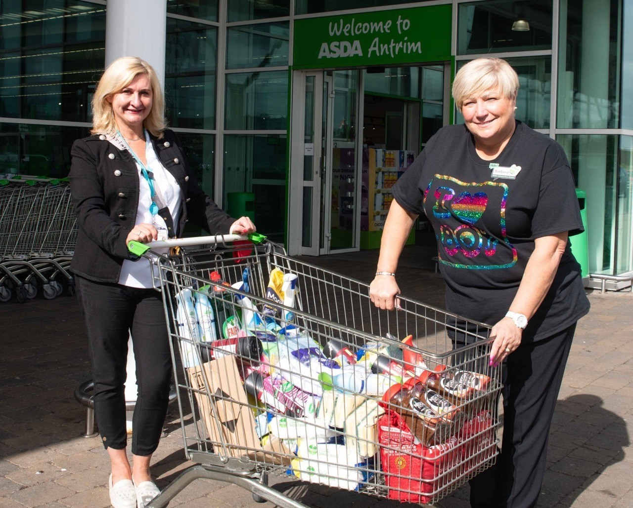 Donation of cleaning products for Antrim Adult Centre | Asda Antrim