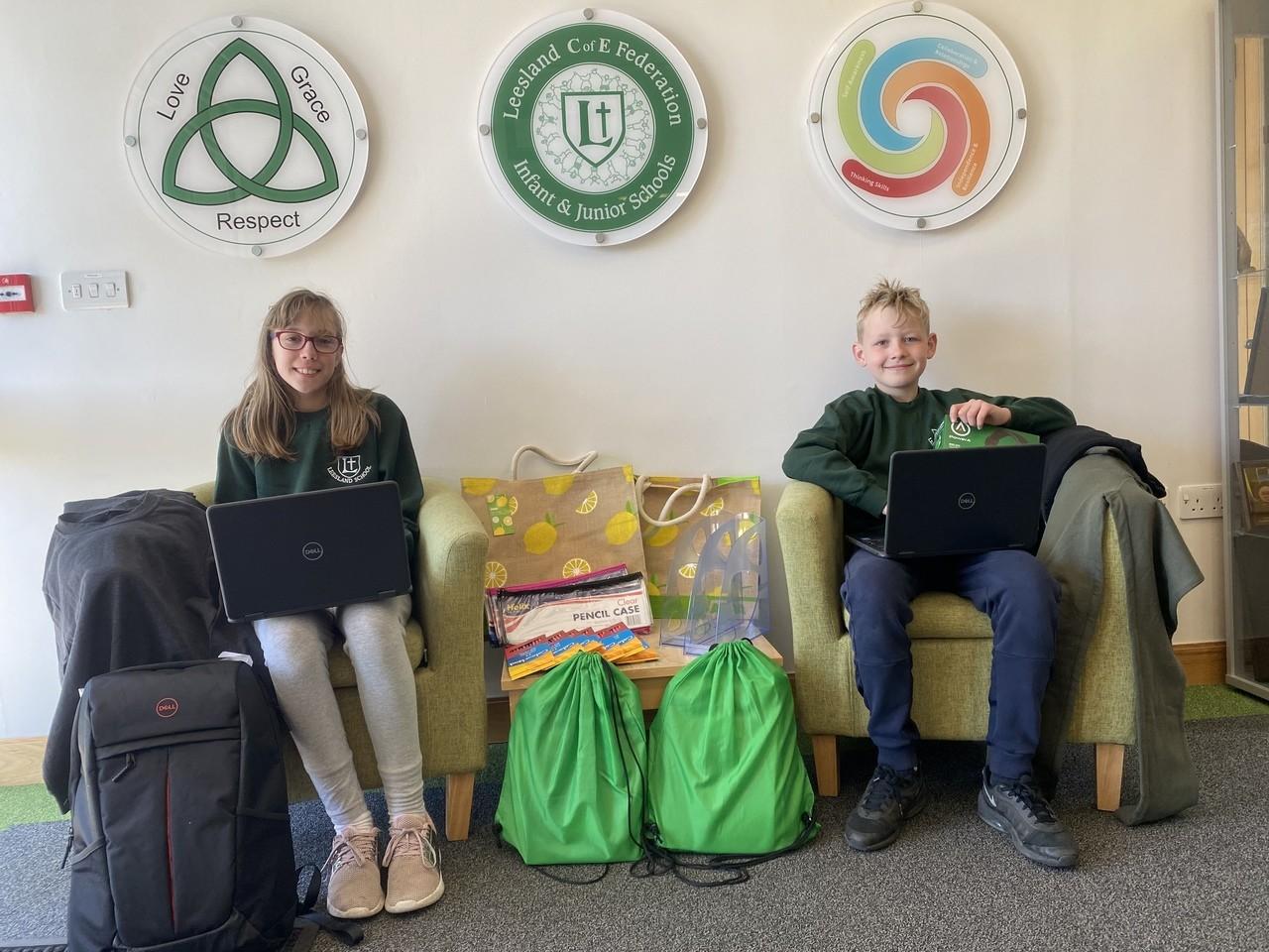 School laptops donation | Asda Gosport