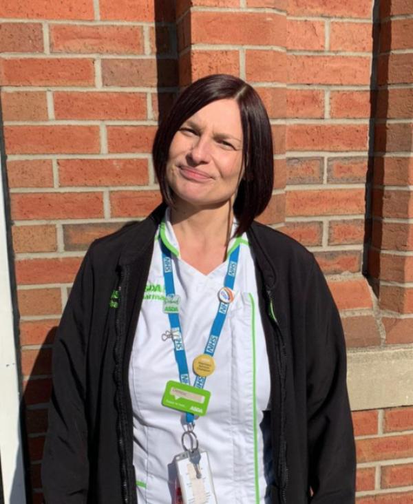 Asda Hull Mount Pleasant pharmacy colleague Denise Ledger