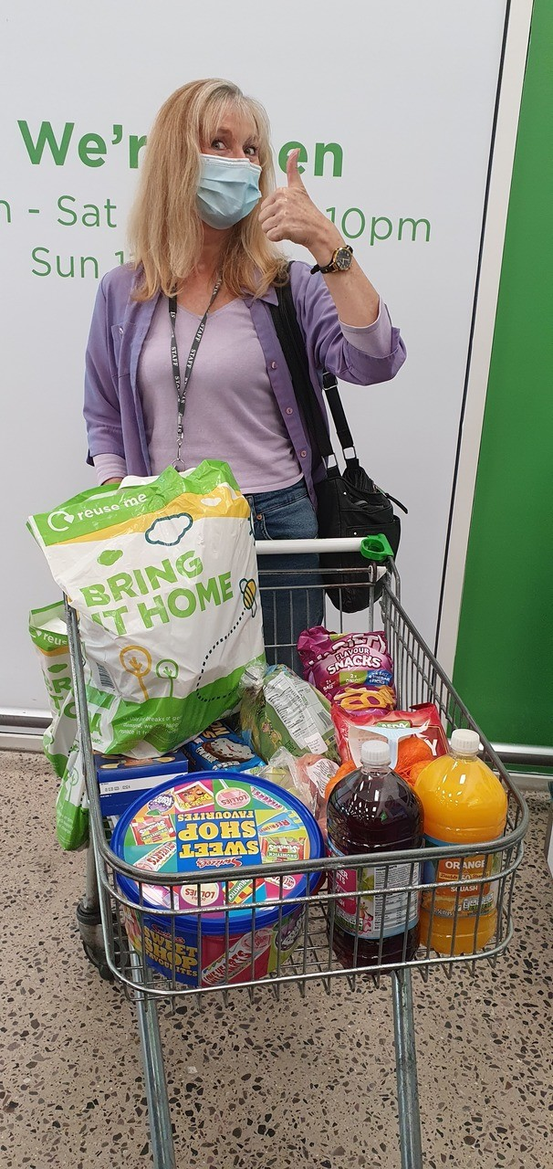 Walk Tall donation | Asda Greenhithe