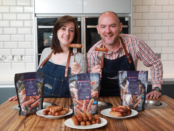 Asda Extra Special sausages from Finnebrouge Artisan