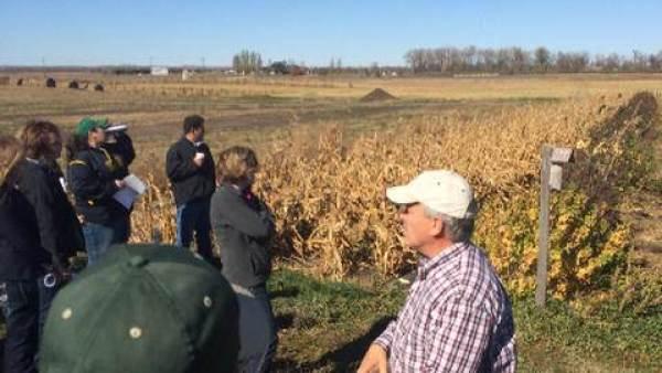 Farmers on US study trip