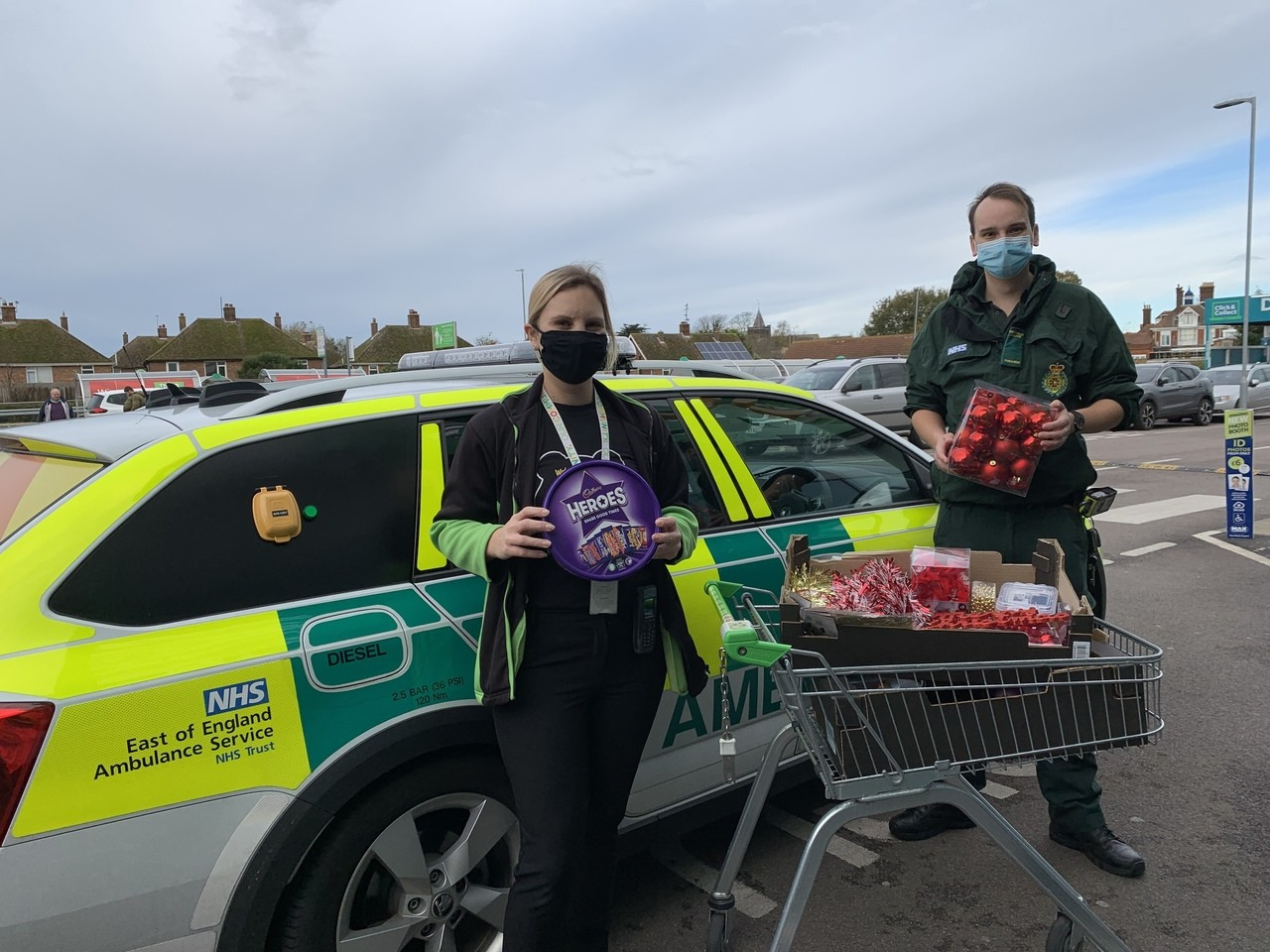 Donation of decorations | Asda Clacton-on-Sea