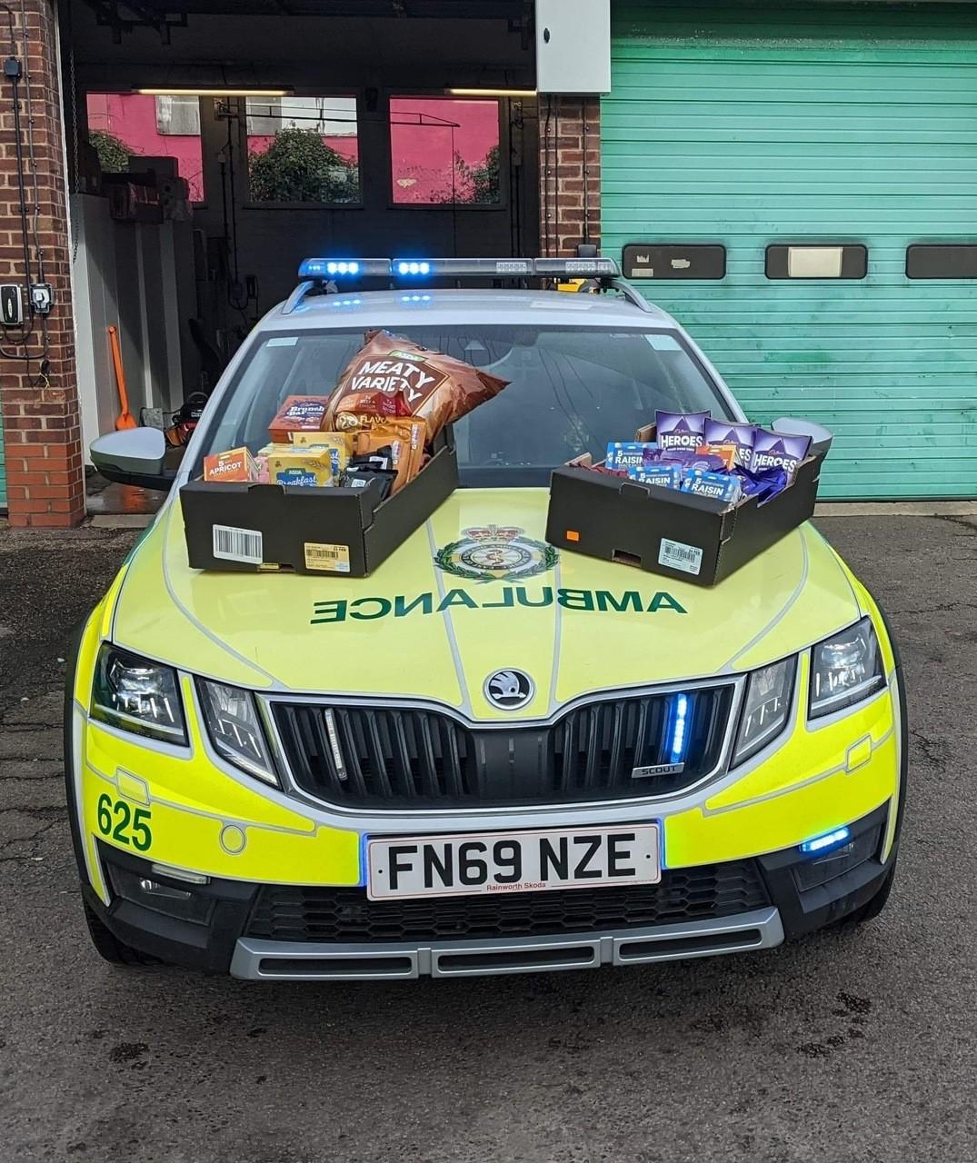 East of England ambulance | Asda Clacton-on-Sea