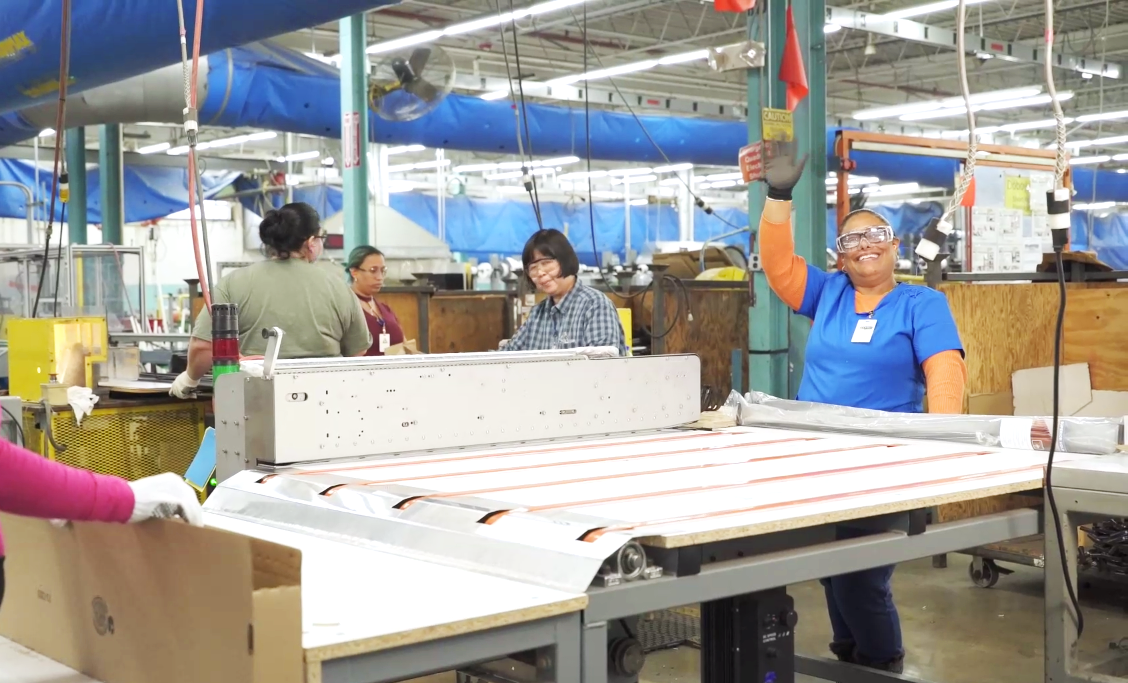 Supplier Kenney Manufacturing employees at work