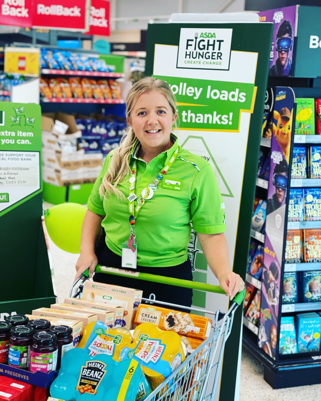 Donation to Making Connexions | Asda Rugby