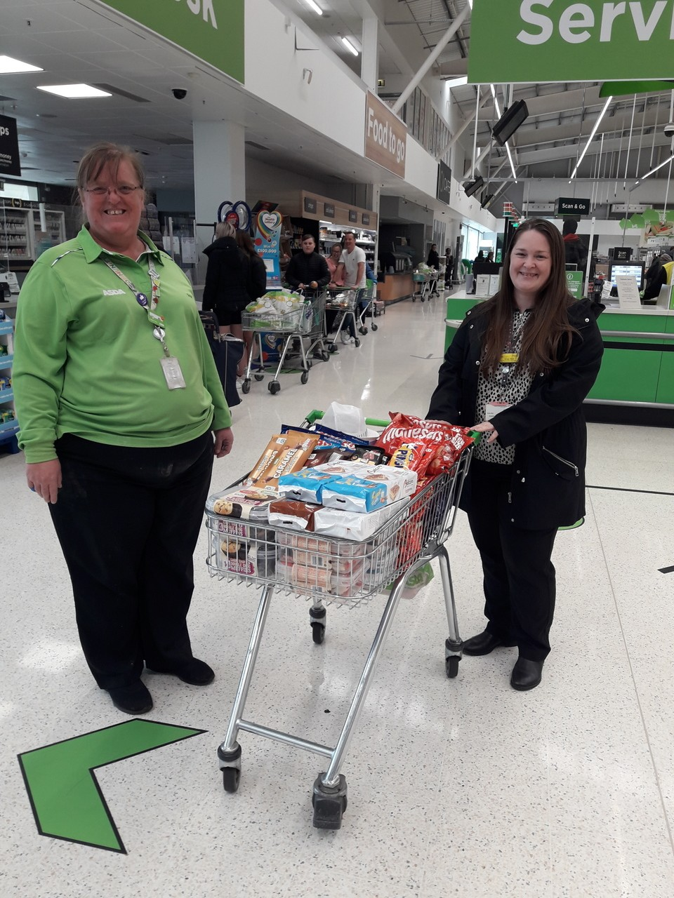 Donation to hospital | Asda Sinfin