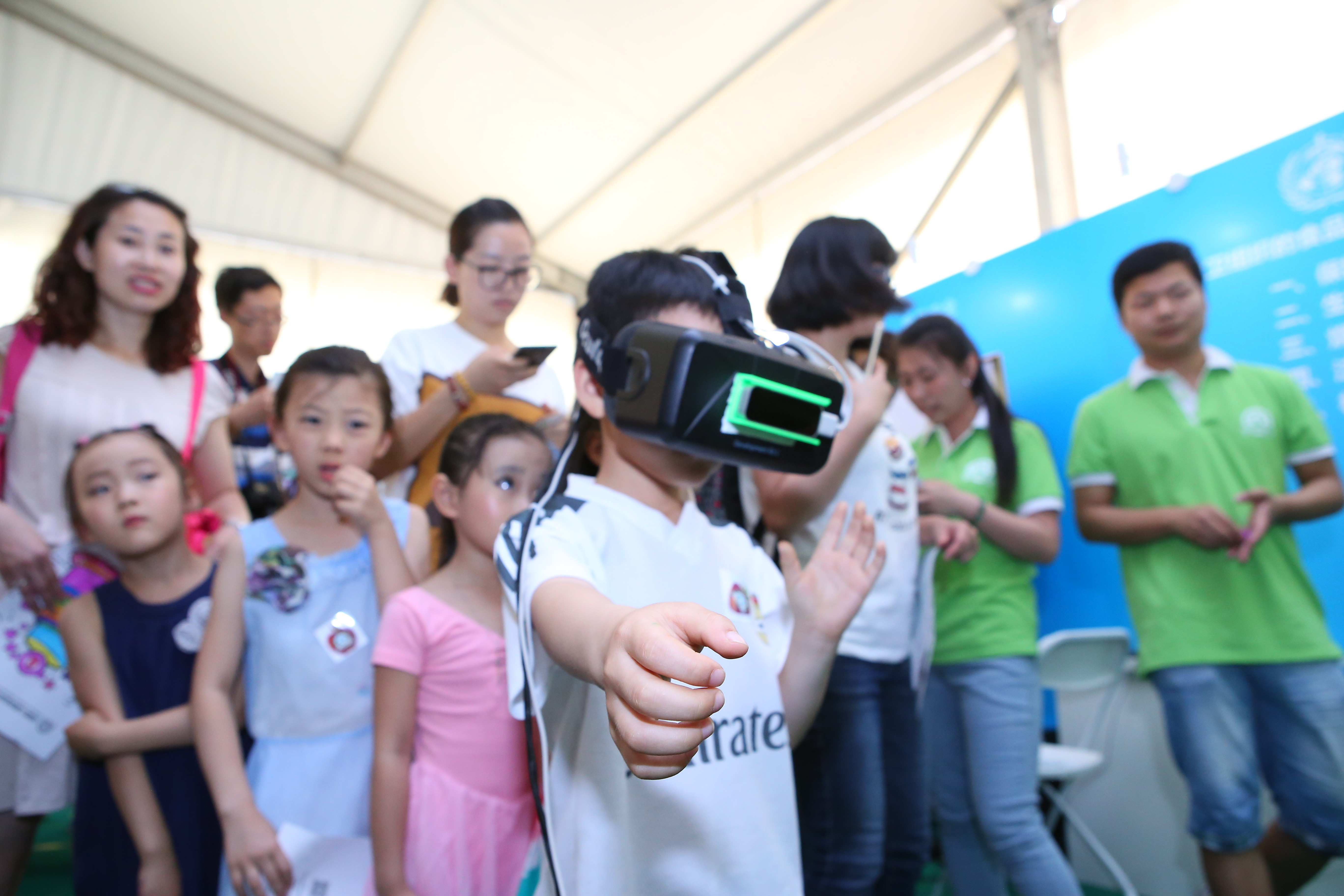 China Children's Food Safety Protection Campaign Launch - VR