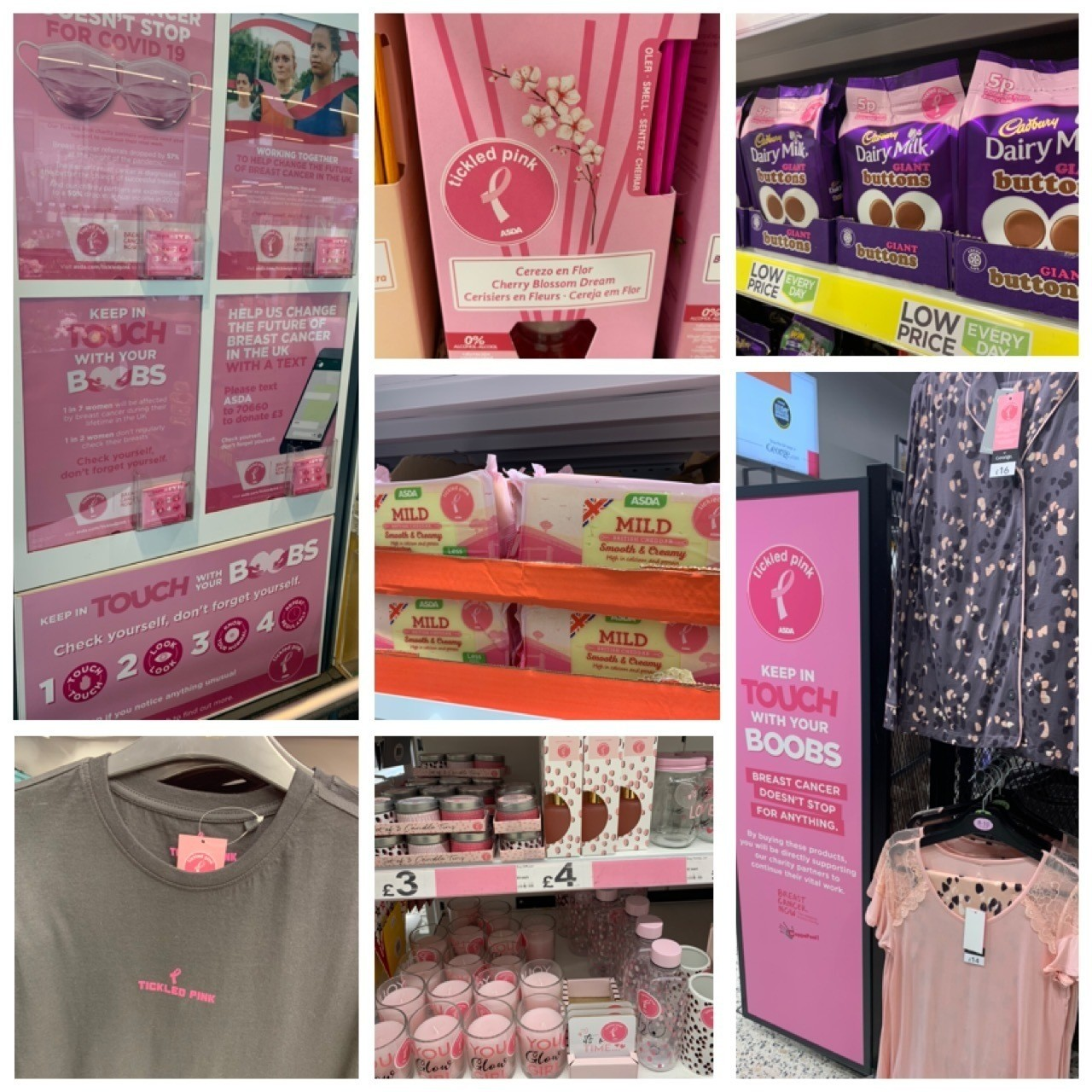 Pink!  | Asda Clacton-on-Sea
