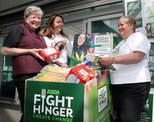 Asda Fight Hunger Create Change