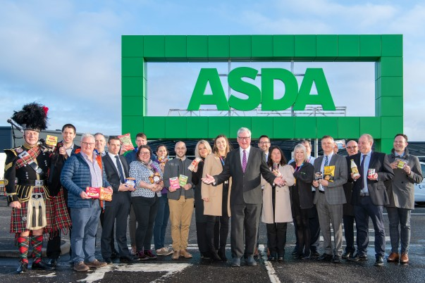 Sales of locally-produced Scottish goods rise at Asda stores