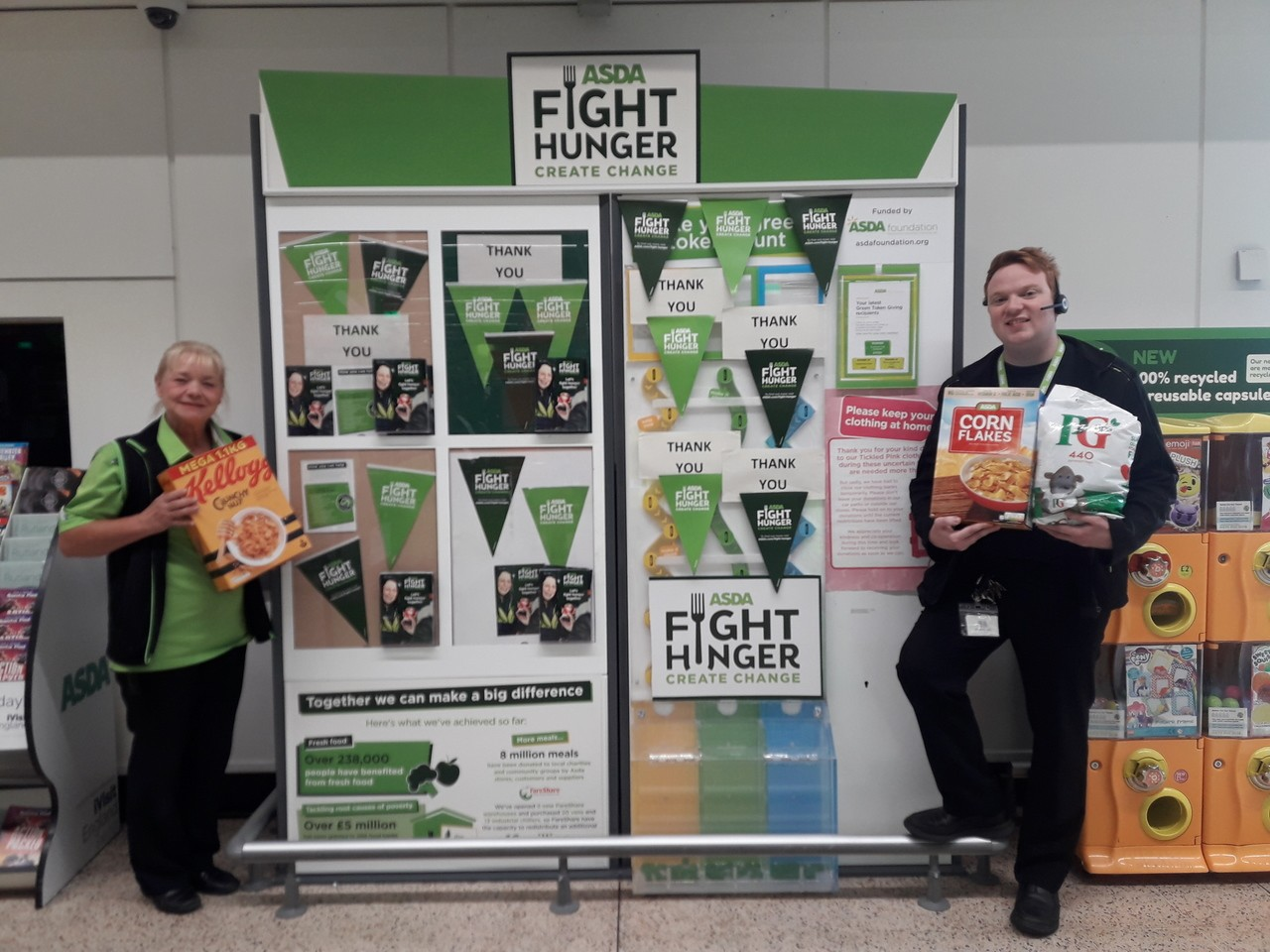 Food drive for our local food bank  | Asda Scunthorpe