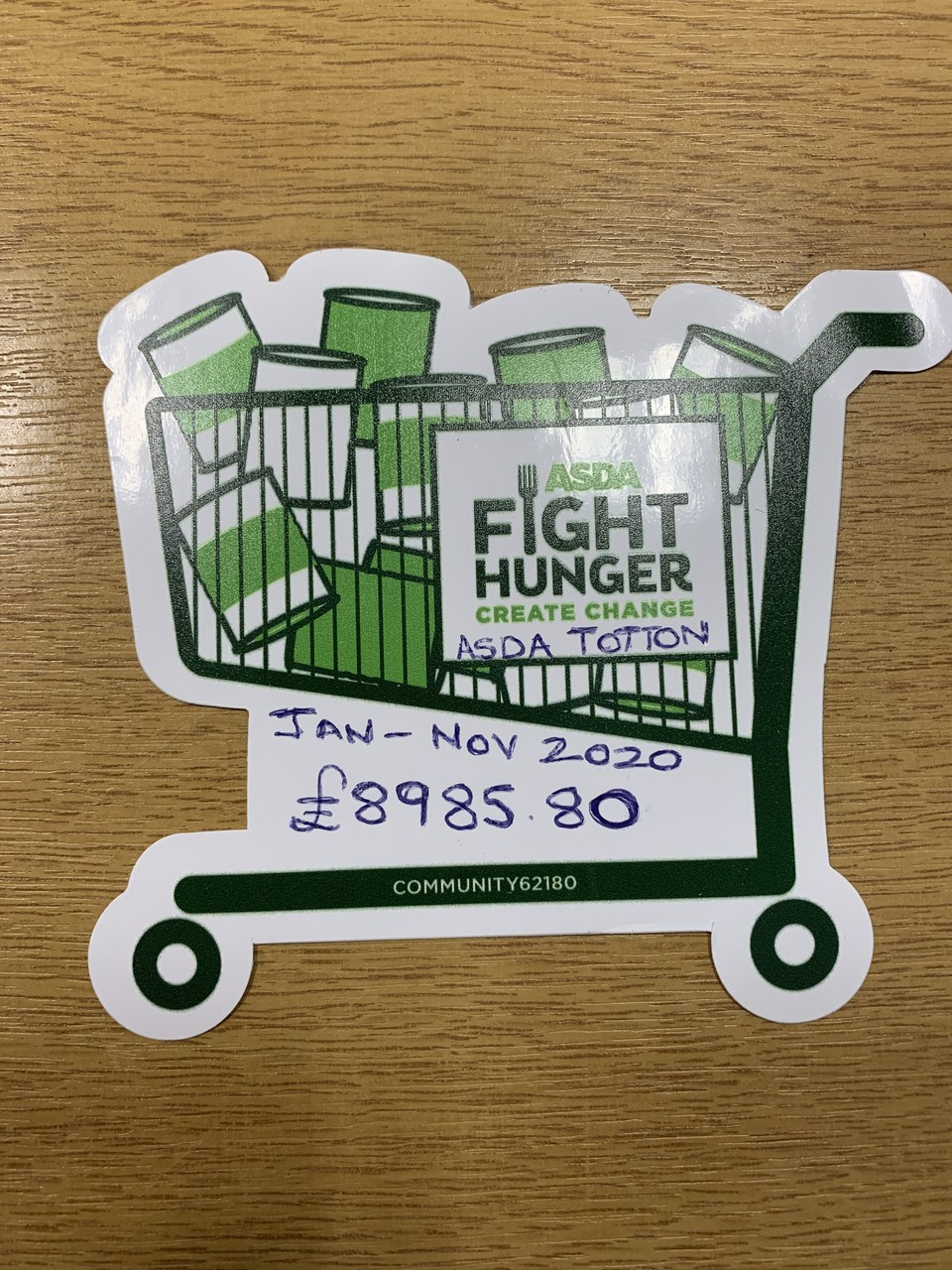 Community spirit is alive and well   Asda Totton
