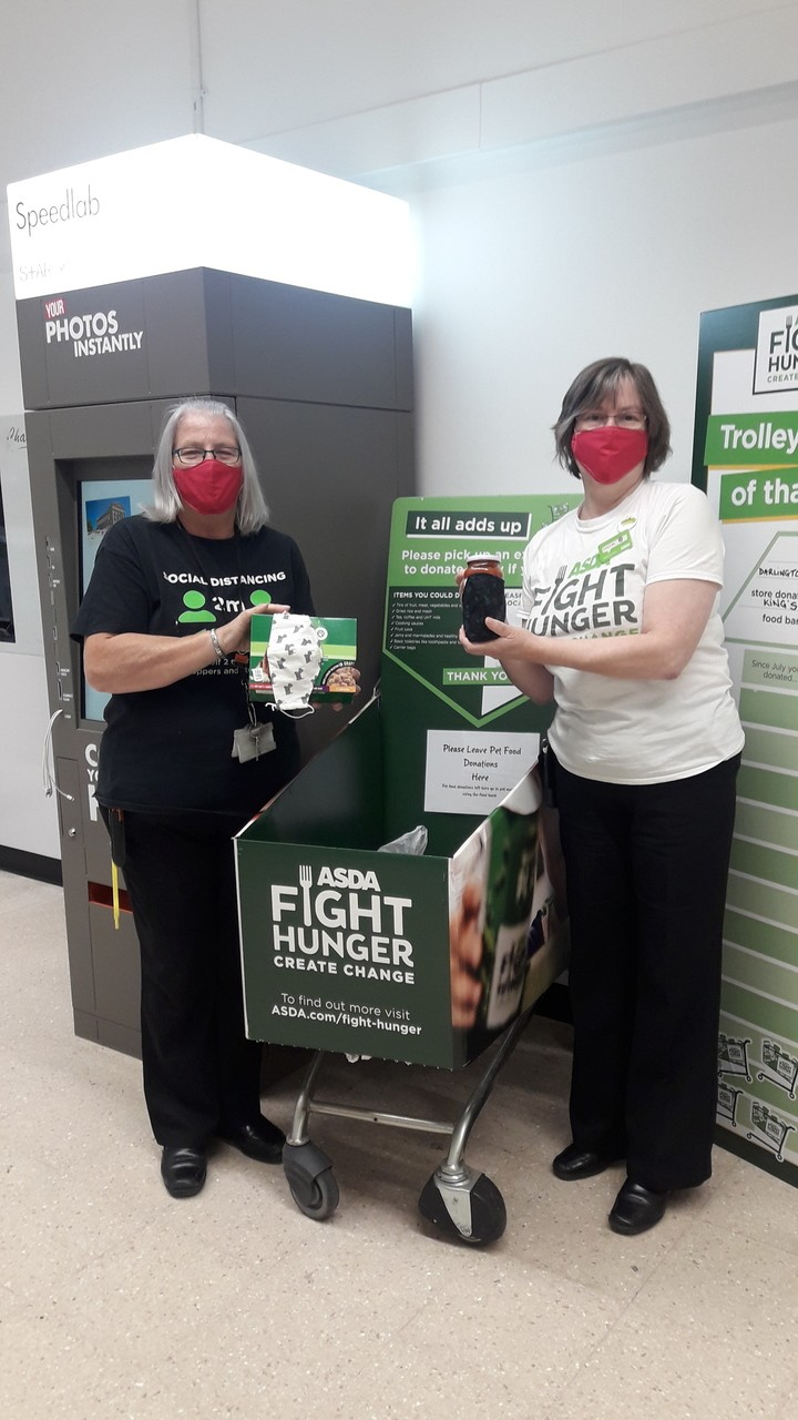 Colleagues support Fight Hunger Create Change | Asda Darlington