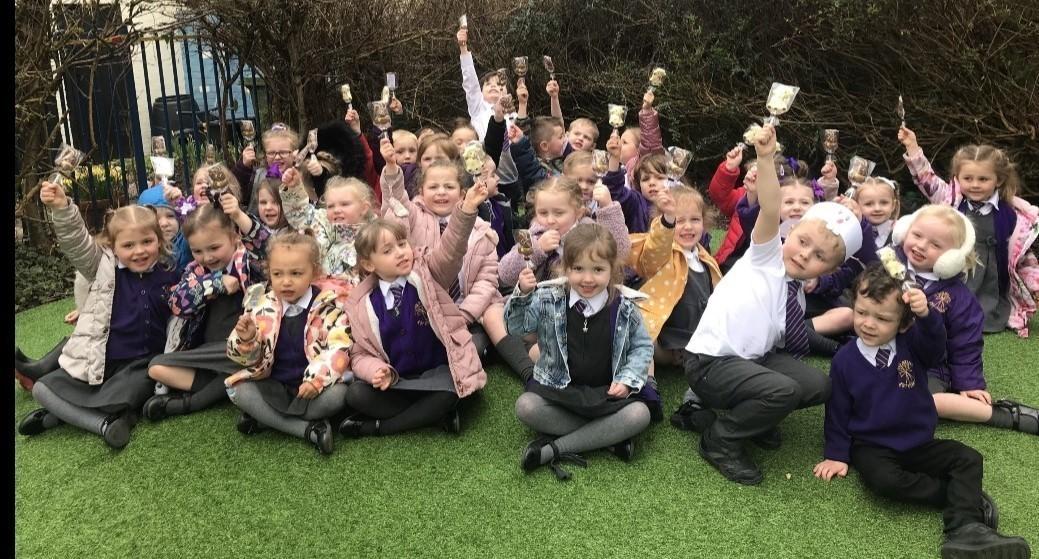 Treats for a local school | Asda Fleetwood
