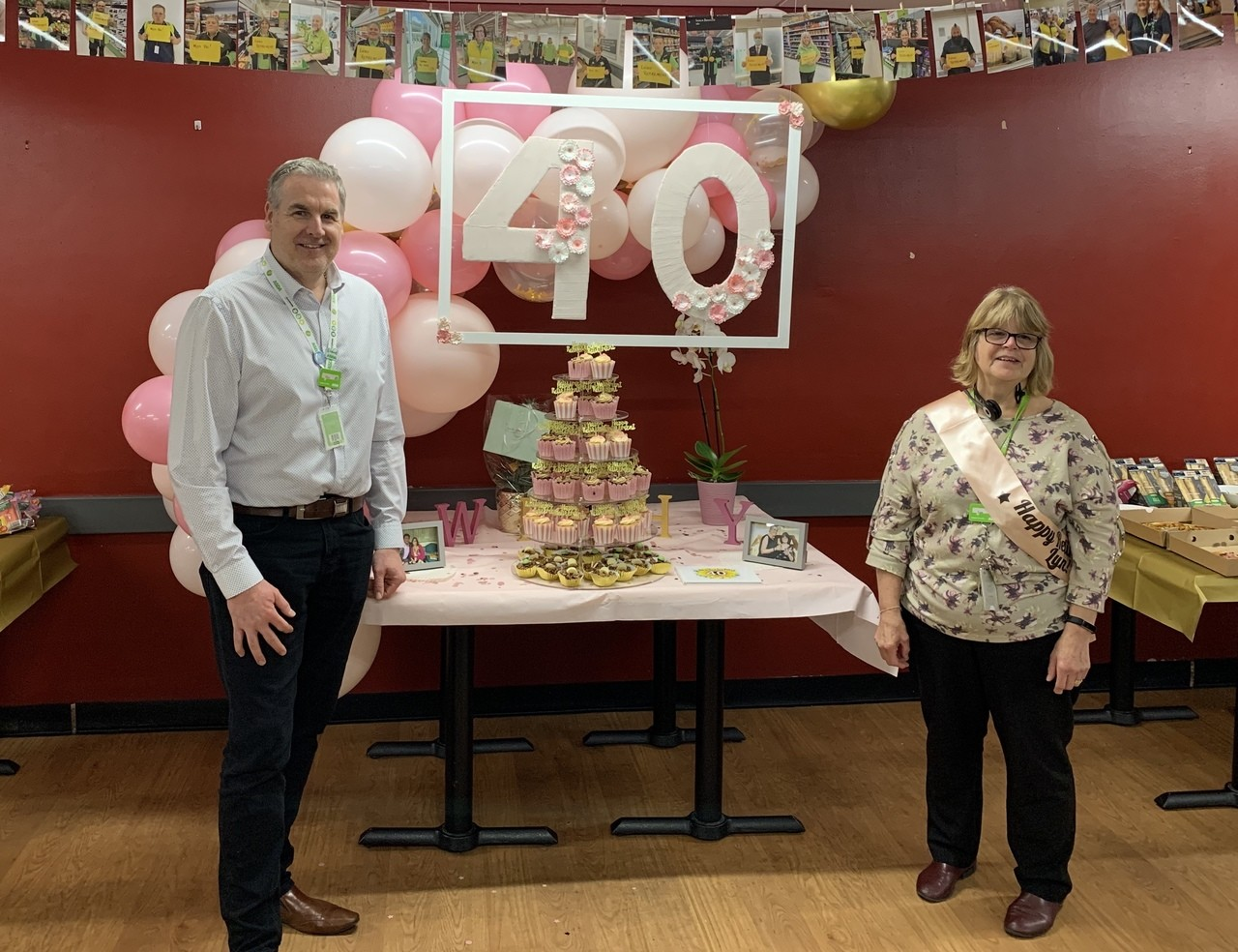 Happy retirement Lyn after 40 years' service with Asda | Asda Havant