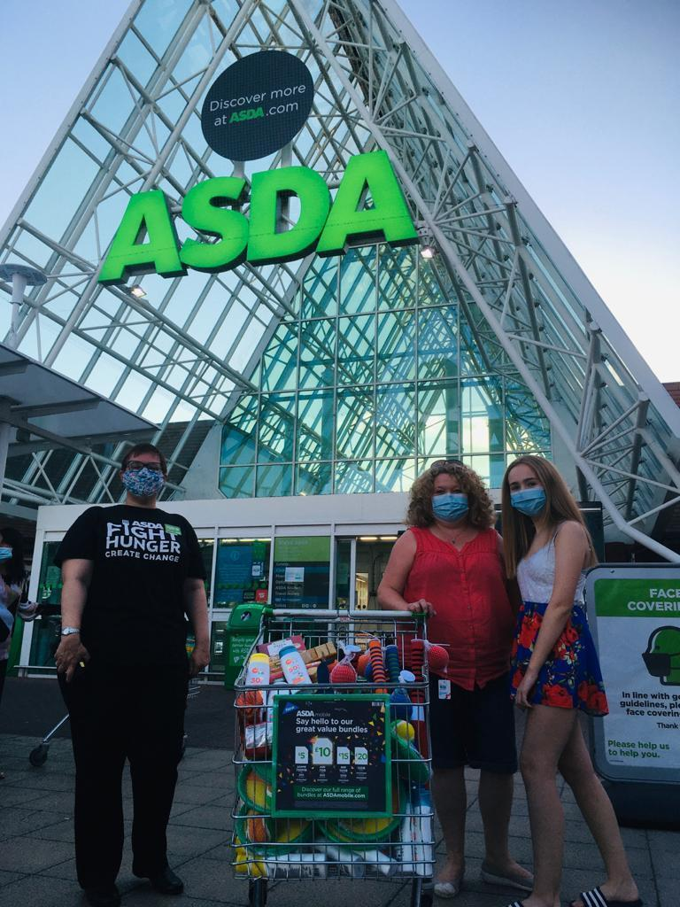 Woodley Lunch Bunch donation | Asda Lower Earley