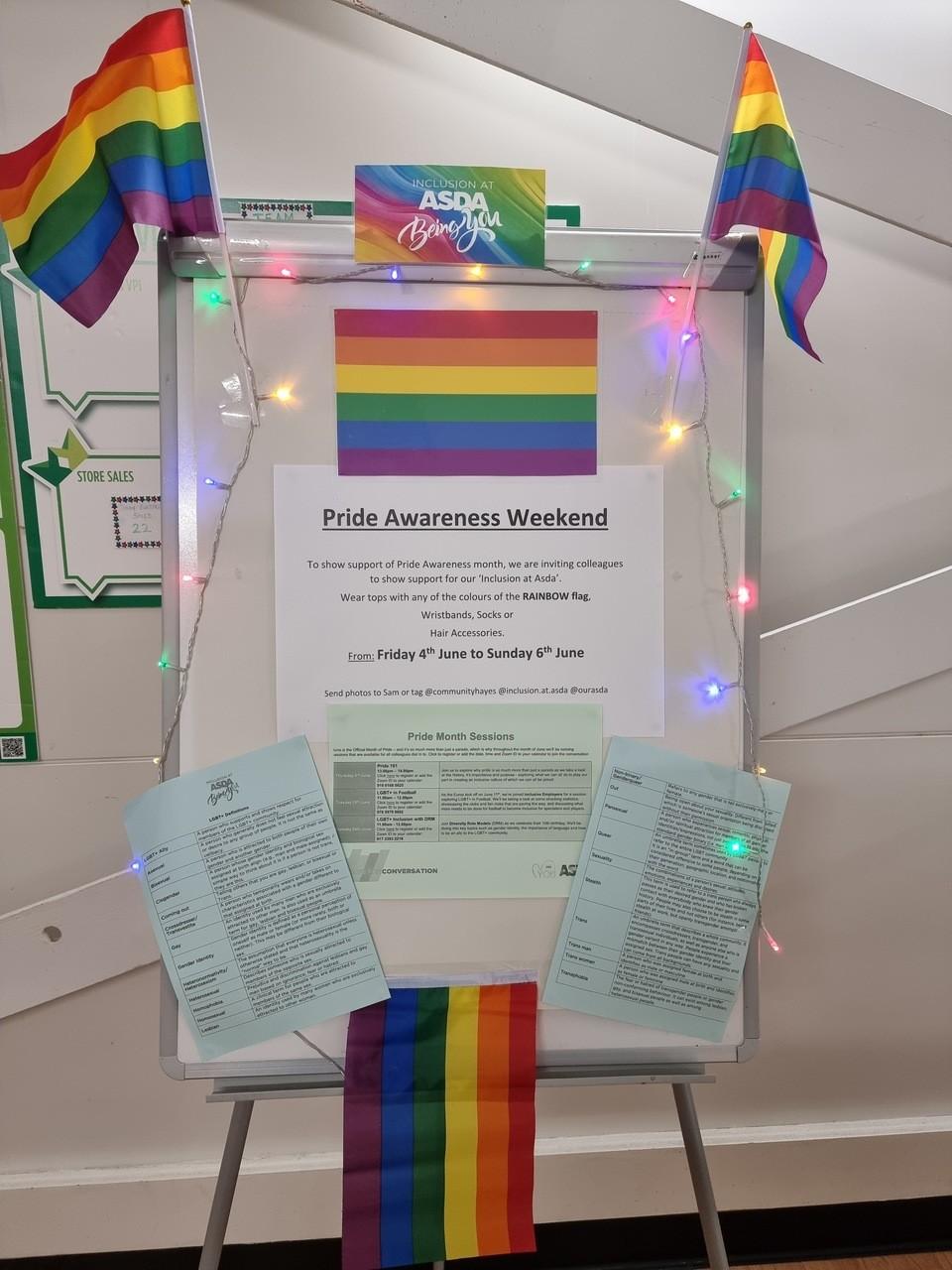 Pride 2021 | Asda Hayes