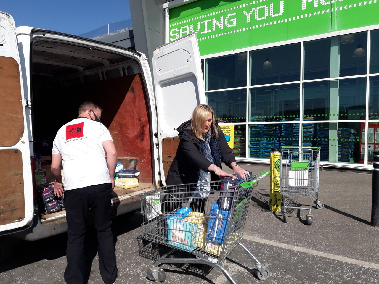 Menzieshill community hub foundation grant ! What a whopper!!! | Asda Dundee West