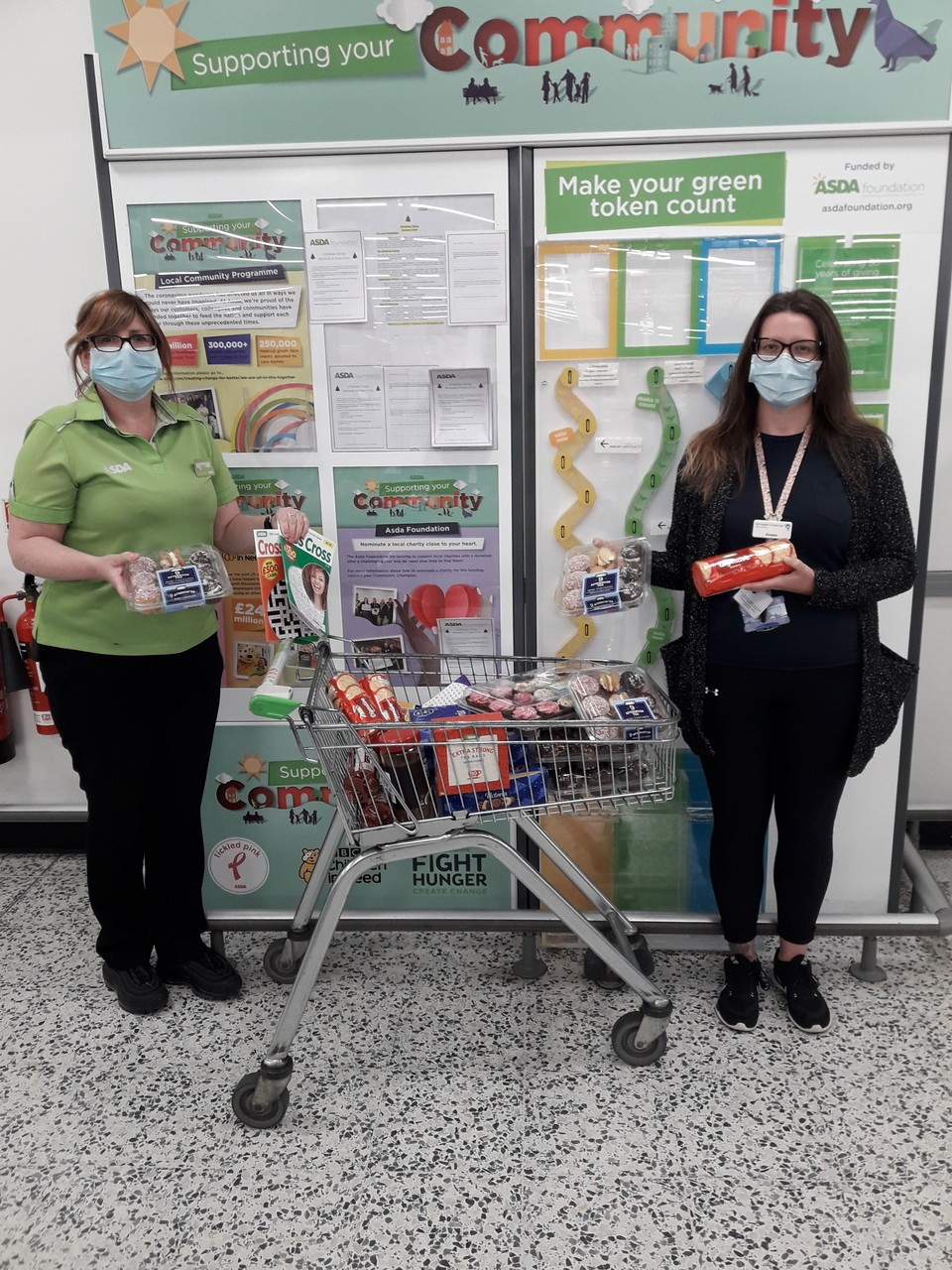 Donations to good causes | Asda Kirkcaldy