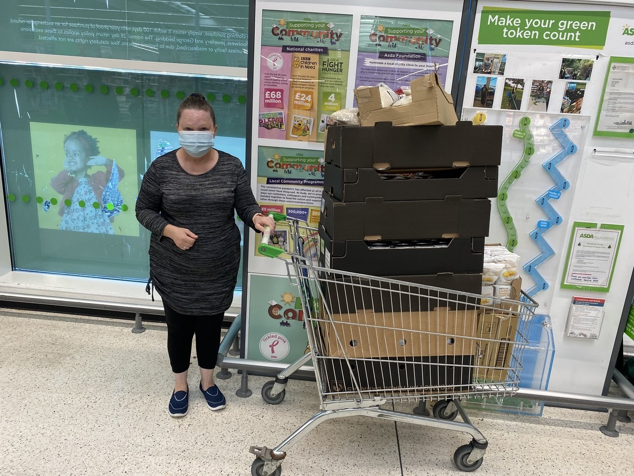 Penderry Community Pantry donation | Asda Gorseinon
