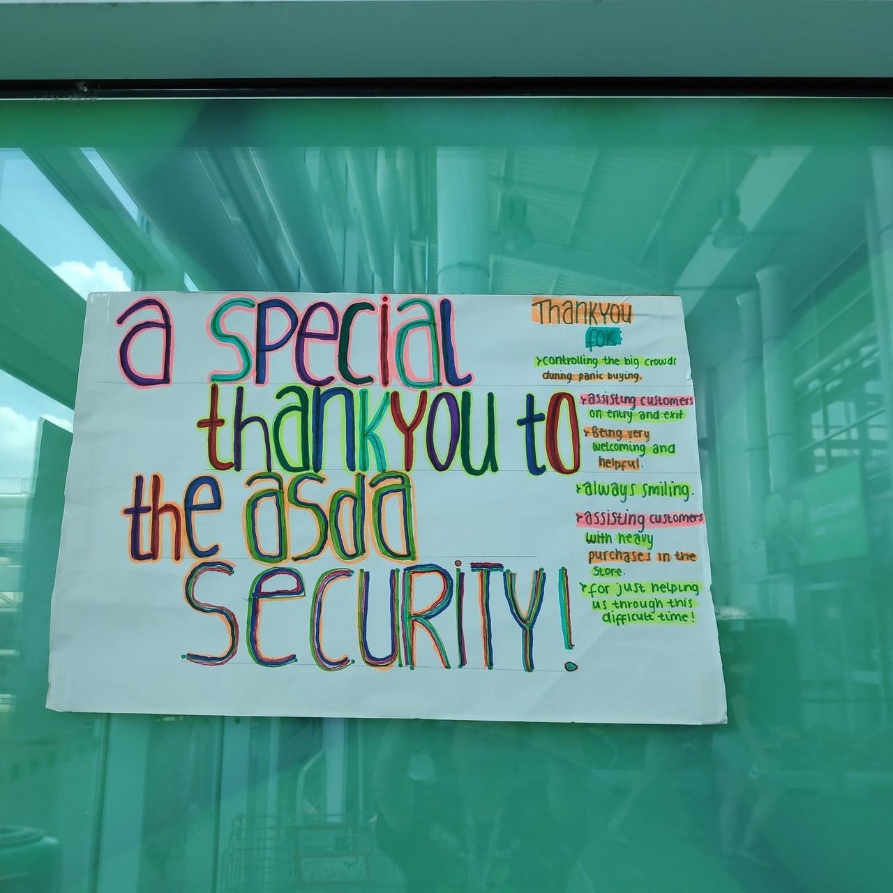 Asda Watford thank you | Asda Watford
