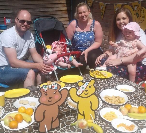 BBC Children in Need picnic with Asda Gosforth