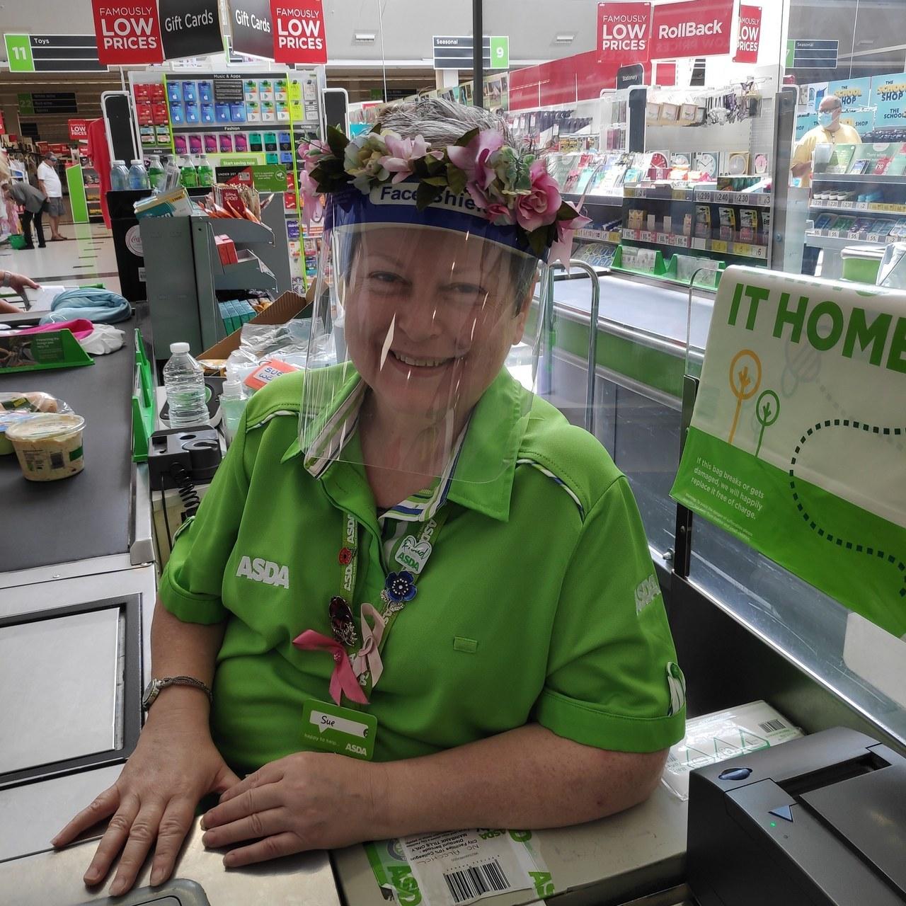 Welcome back, Sue | Asda Watford