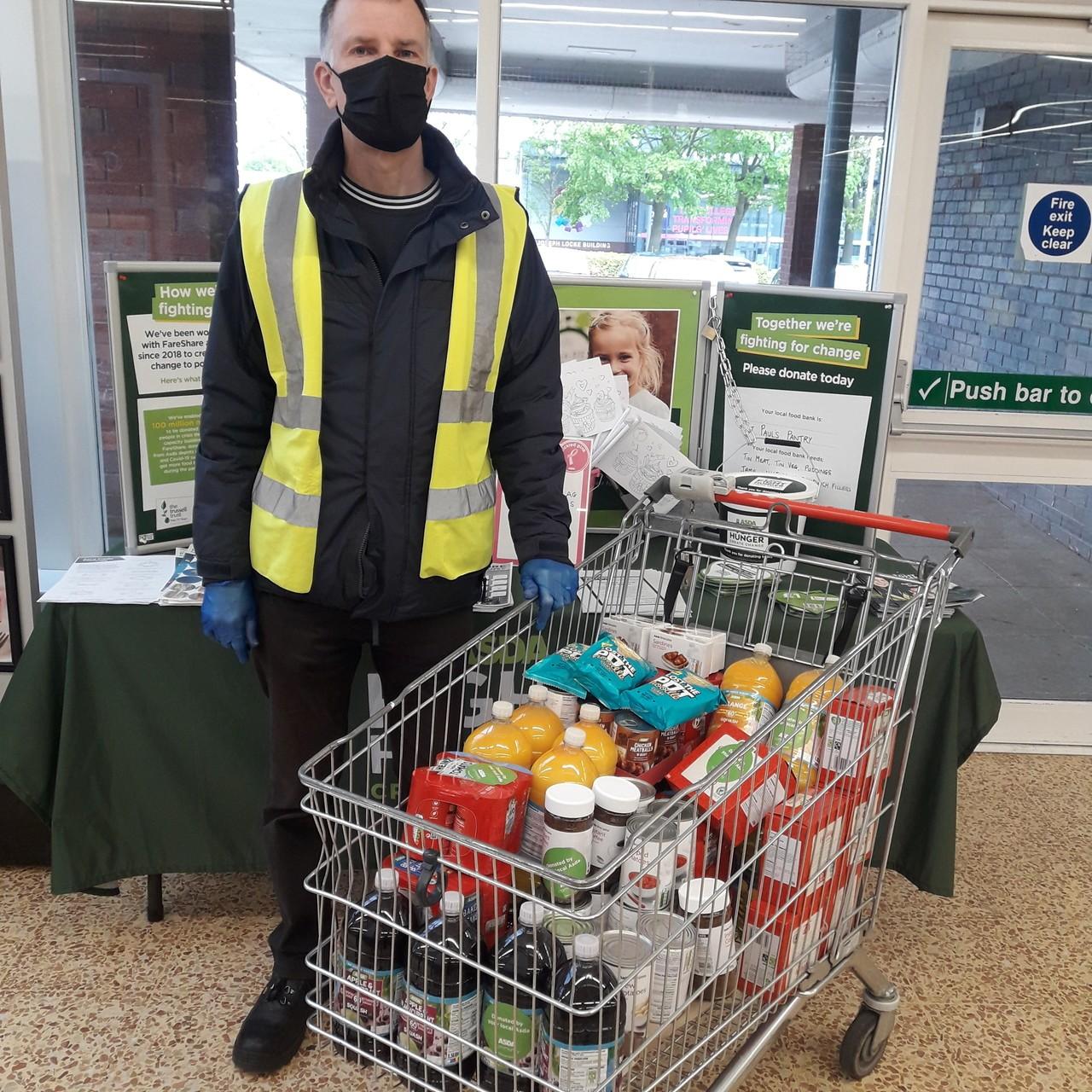 Fight Hunger Create Change   Asda Crewe