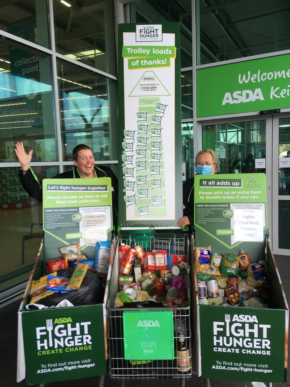 Food donations | Asda Keighley