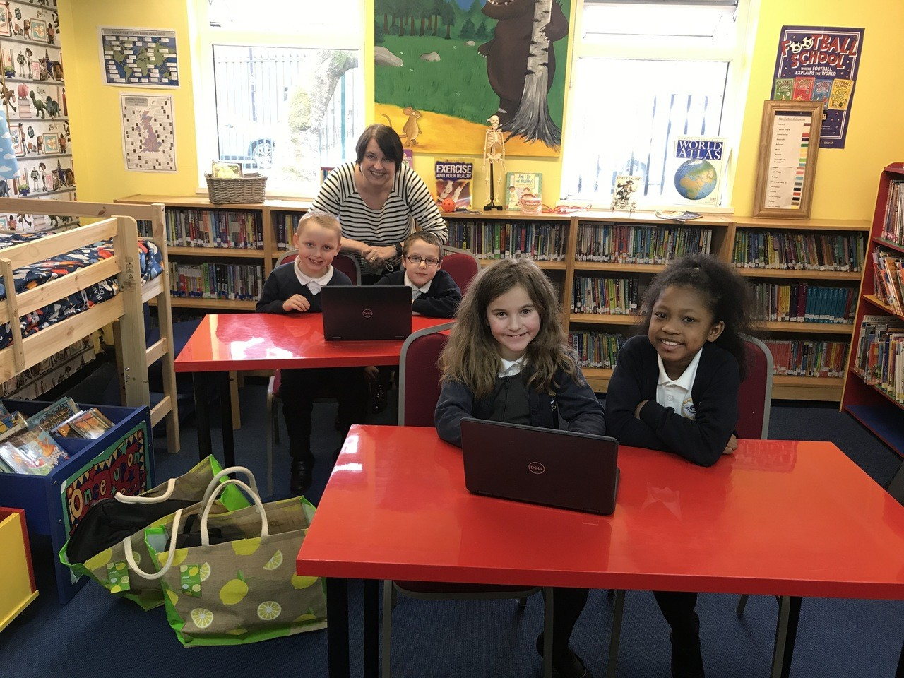 Laptops for St Columbas Primary School | Asda Bolton