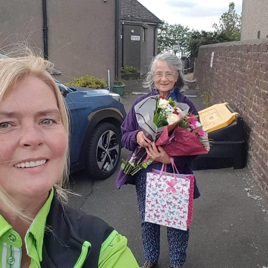 Happy retirement Moria   Asda Falkirk