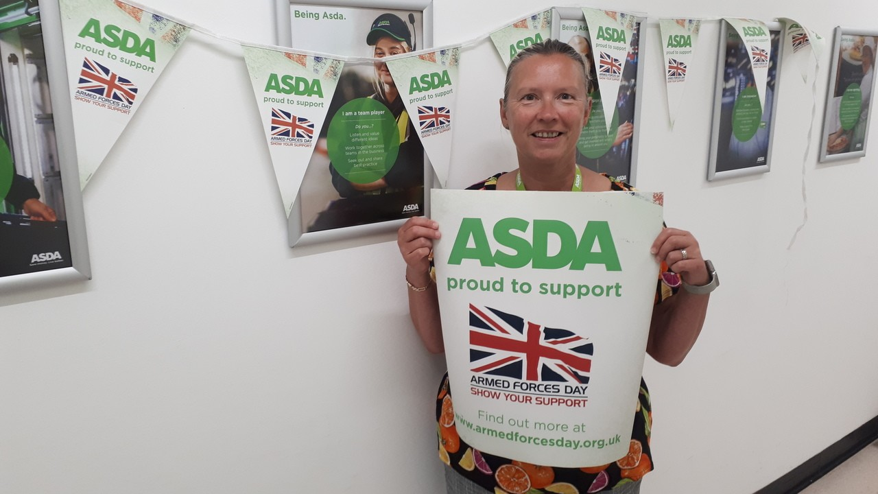 Supporting Armed Forces Day | Asda Boston