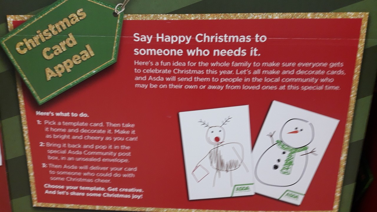 Our Store Community Christmas Activity  | Asda Darlington