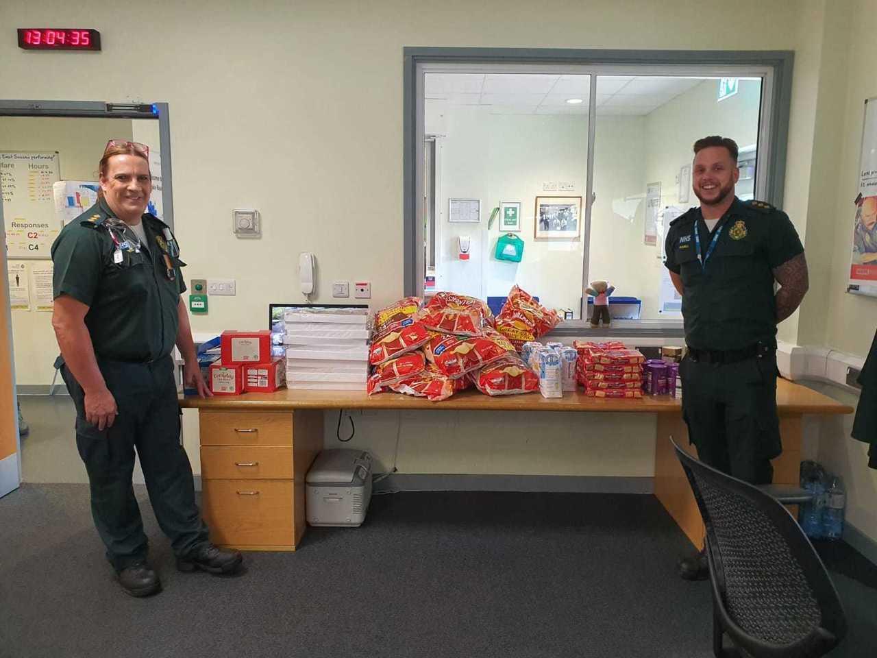 Proud of ambulance team | Asda Eastbourne