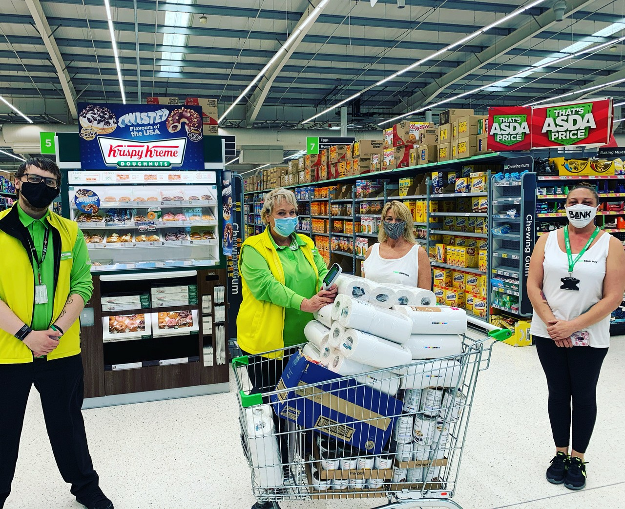 Foodbank donation  | Asda Havant