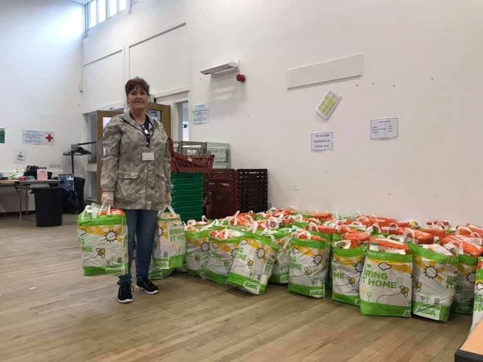 Carrier bag donation for local group | Asda Toryglen