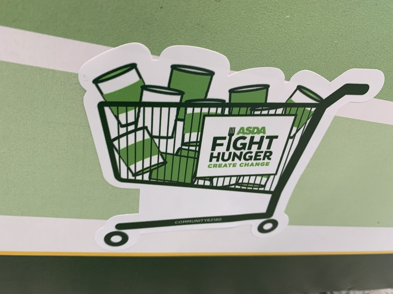 Fight Hunger support | Asda Clacton-on-Sea