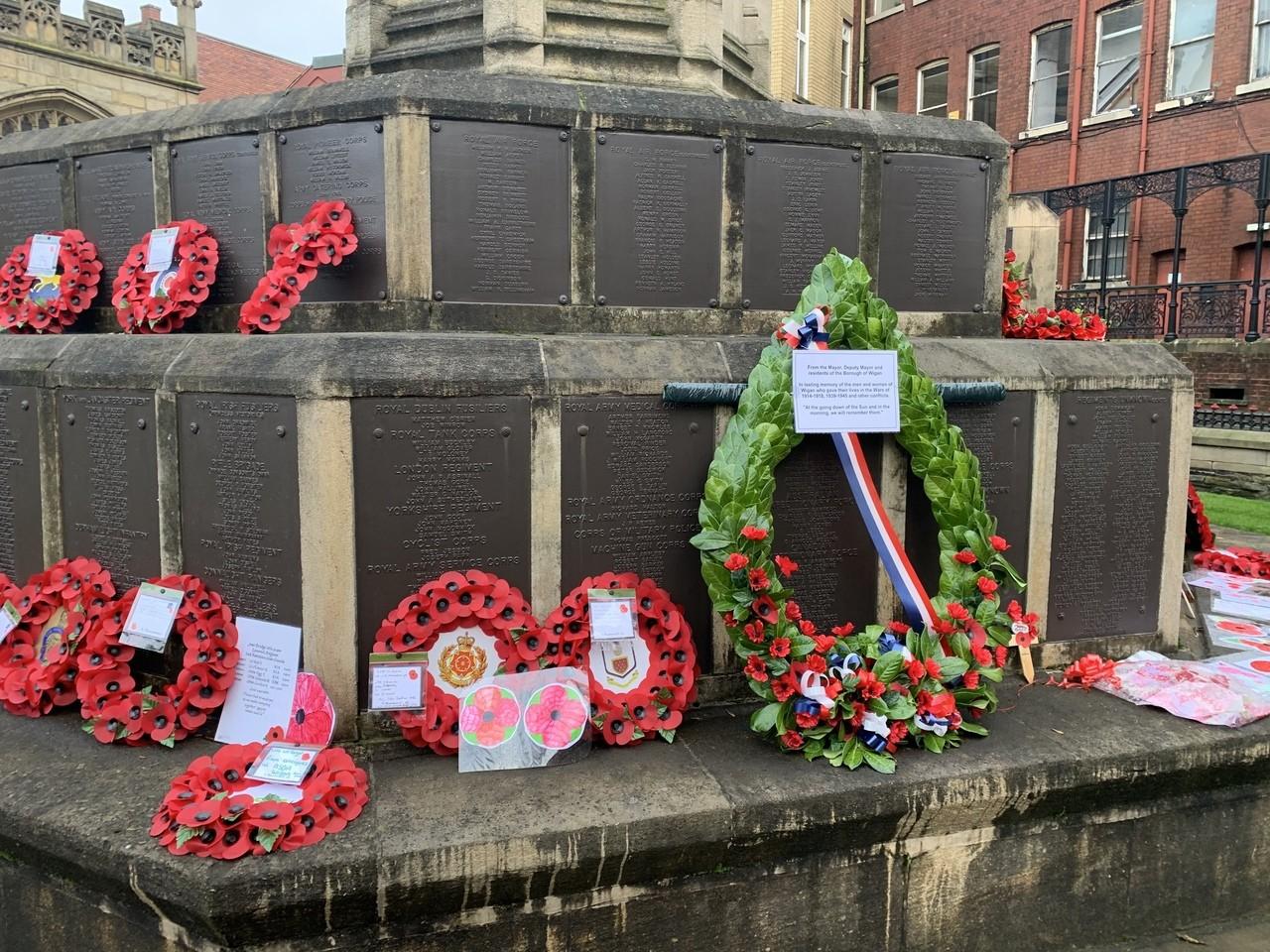 Remembering the fallen | Asda Wigan