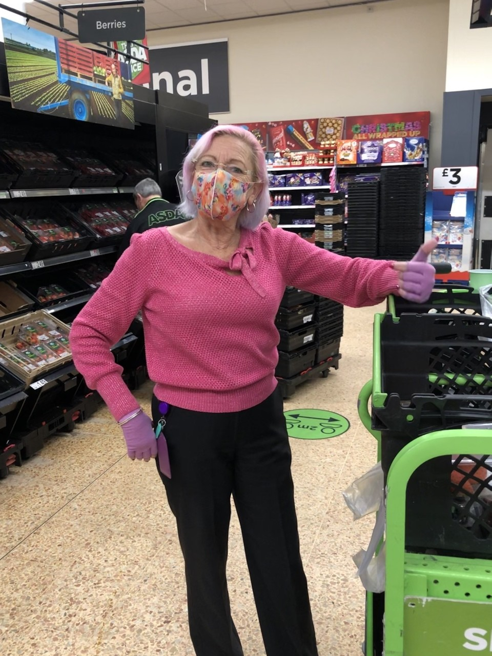 Tickled Pink thanks | Asda Waterlooville