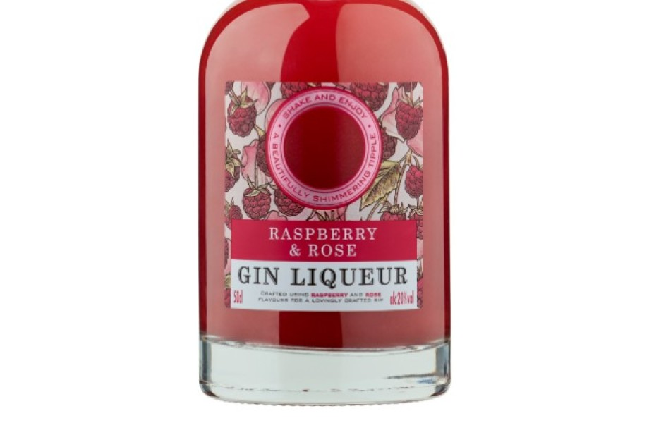 Extra Special Raspberry and Rose Gin