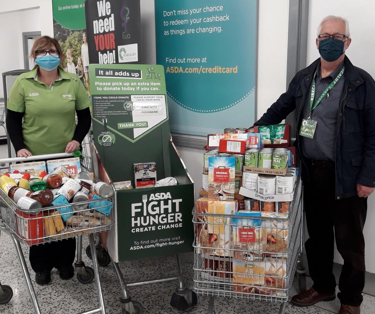 Community donations | Asda Kirkcaldy