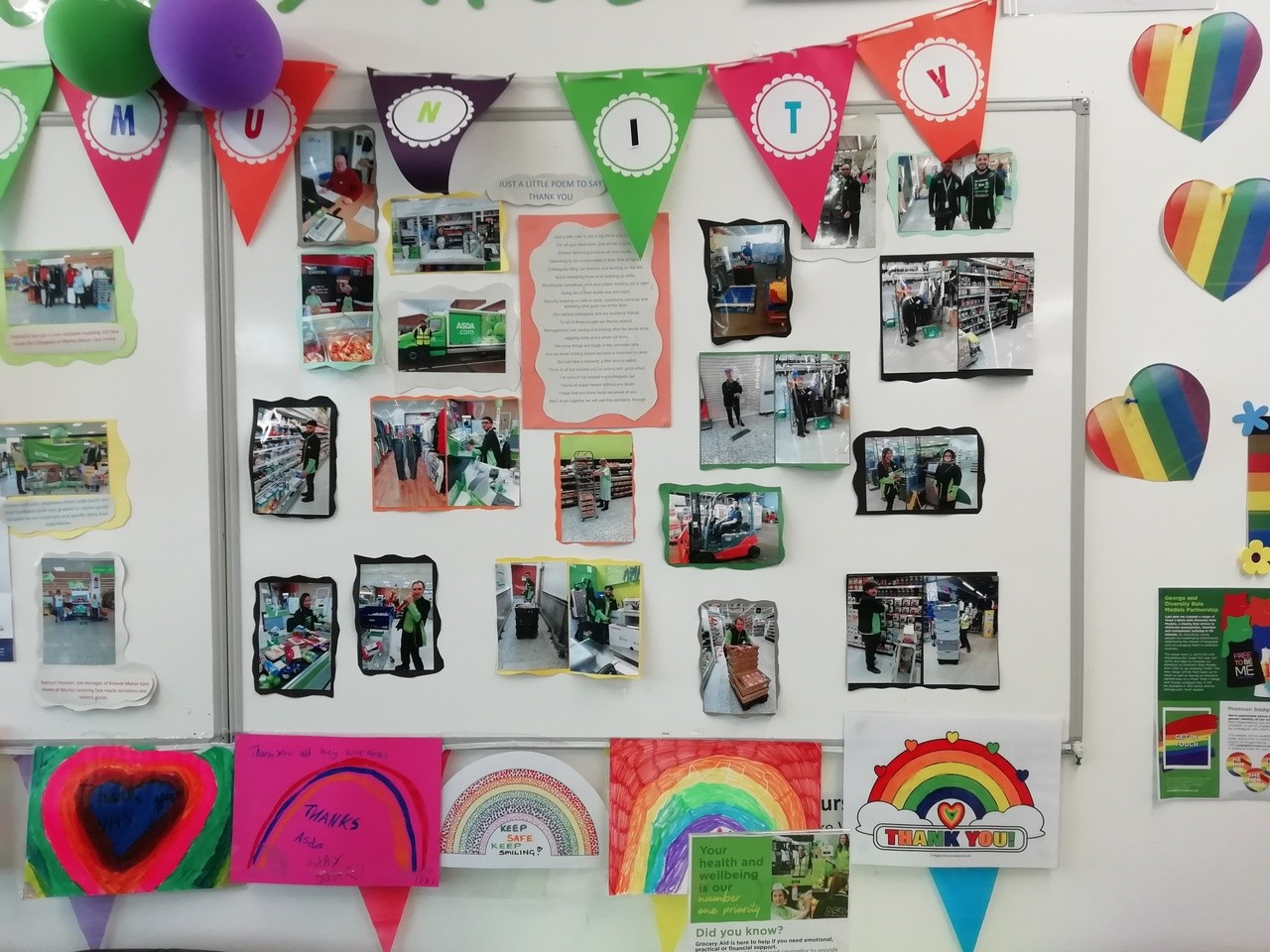 Thank you to colleagues | Asda Morley