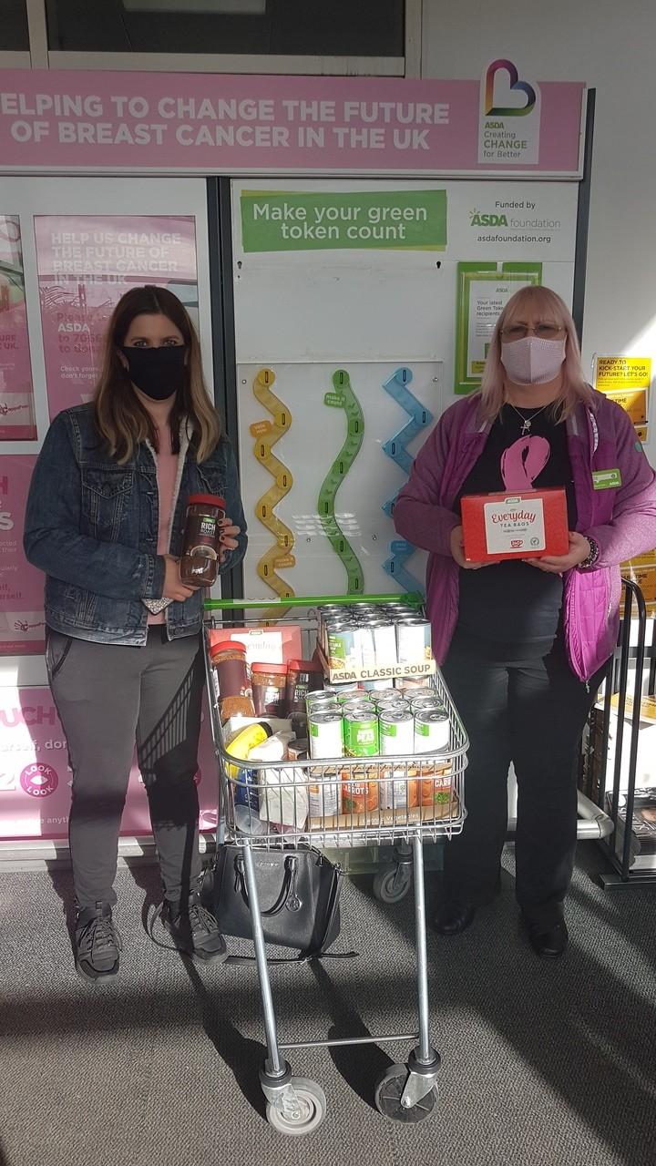 Donation for Jigsaw Charity in Bury | Asda Pilsworth