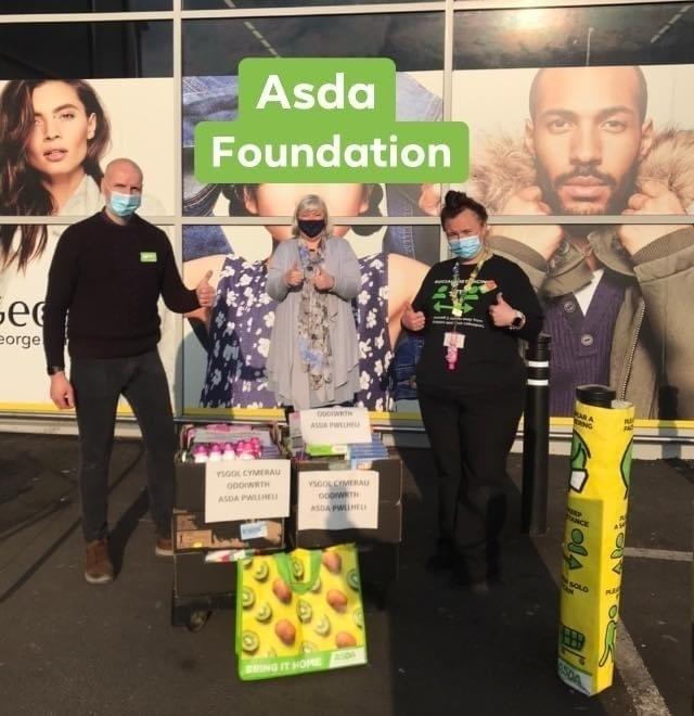 Foundation grant | Asda Pwllheli