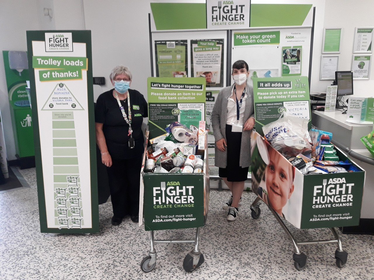 Fight Hunger Create Change | Asda Bedminster