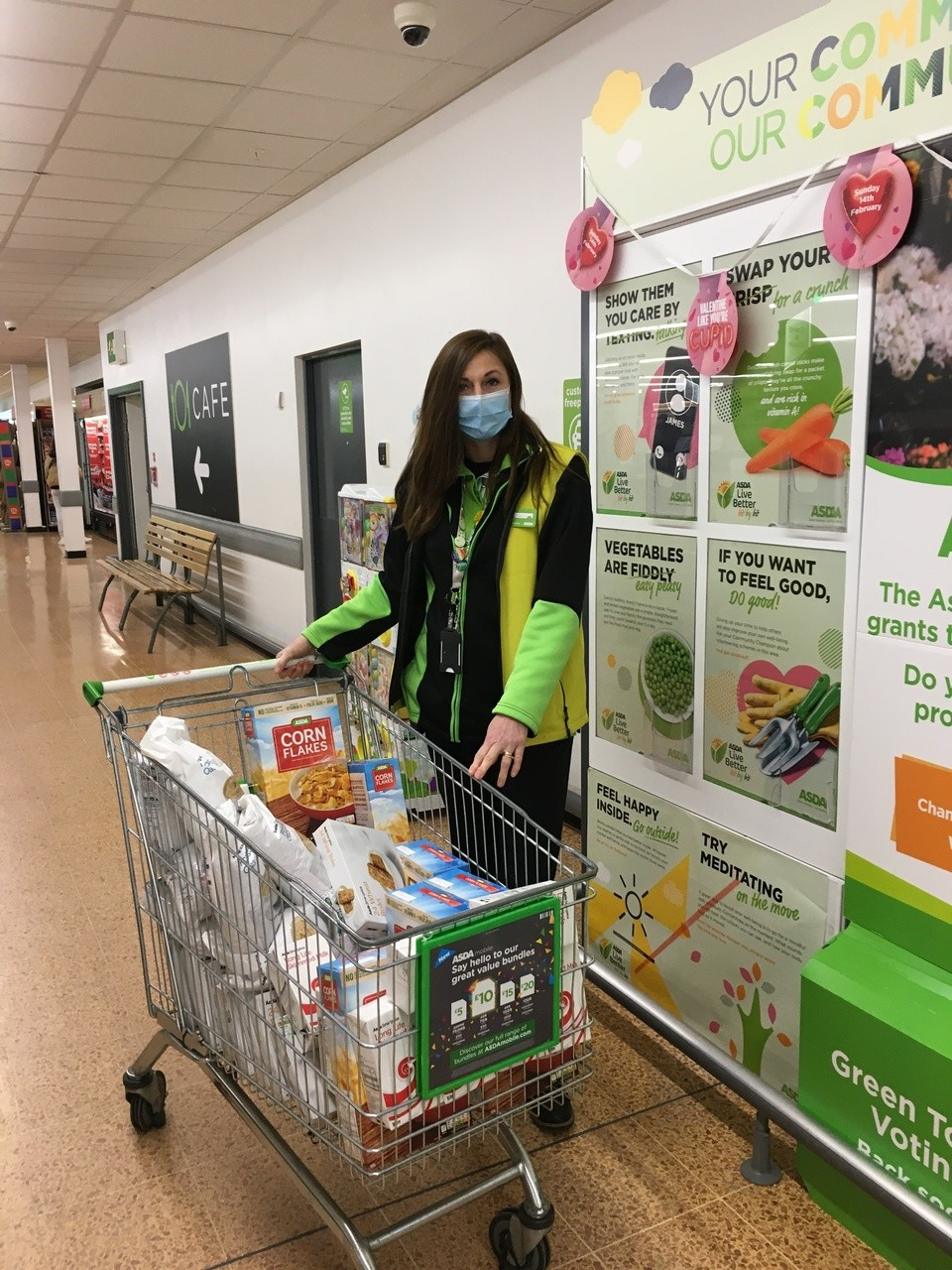 Food donations for our local food bank | Asda Longwell Green